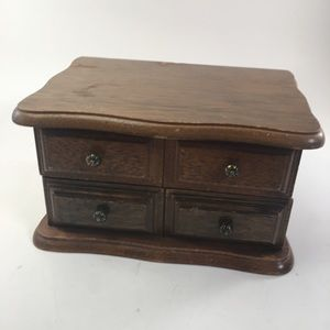 Vintage Avon Collection Wood Jewelry Box!